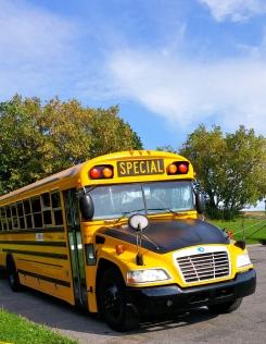 Bus pour les écoliers